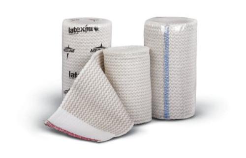 "Medline Matrix Elastic Bandage, 2"" X 5 yd, MDS087002LF, Box of 10"