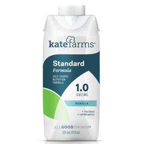 Kate Farms Standard 1.0 Sole-Source Nutrition Formula, Vanilla, 11 oz., 851823006683, 1 Each