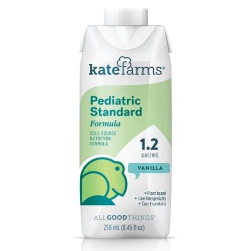 Kate Farms Pediatric Standard 1.2 Sole-Source Nutrition Formula, Vanilla, 8.5 oz., 851823006997, 1 Each