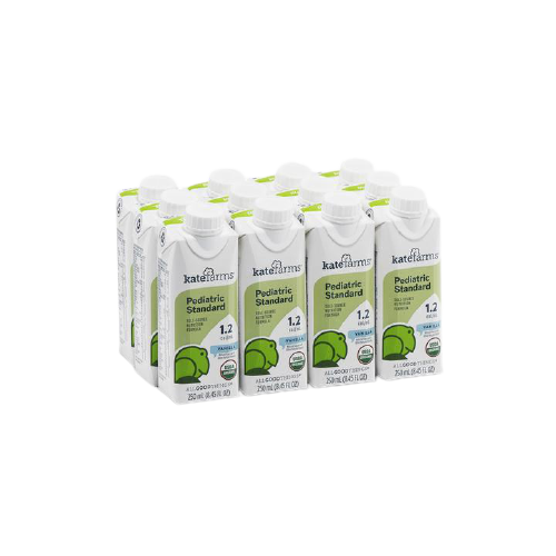 Kate Farms Pediatric Standard 1.2 Sole-Source Nutrition Formula, Vanilla, 8.5 oz., 851823006997, Case of 12