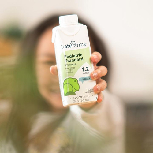 Kate Farms Pediatric Standard 1.2 Sole-Source Nutrition Formula, Vanilla, 8.5 oz., 851823006997