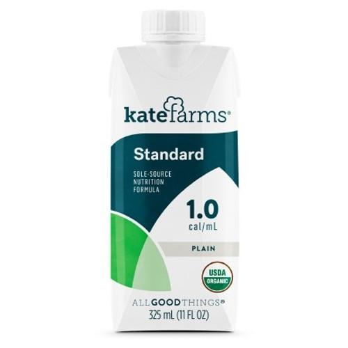 Kate Farms Standard 1.0 Sole-Source Nutrition, Plain, 11 oz., 851823006676, 1 Each
