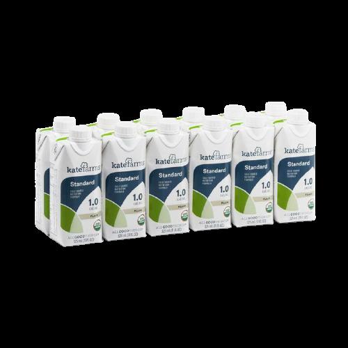 Kate Farms Standard 1.0 Sole-Source Nutrition, Plain, 11 oz., 851823006676, Case of 12