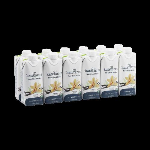 Kate Farms Nutrition Shake, Vanilla, 11 oz., 811112030591, Case of 12