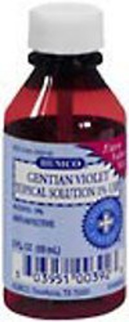 Humco Gentian Violet First Aid Antibiotic, 2 oz., 00395100392, 1 Each