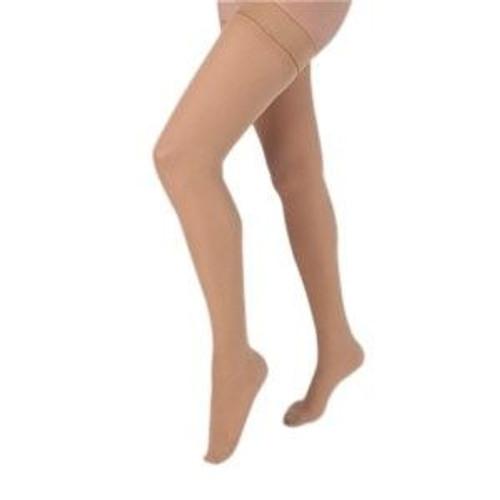 Carolon Thigh High Compression Stocking, Closed Toe, 211312, Tall - 1 Pair
