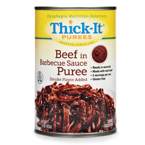 Thick-It Purees Beef in BBQ Sauce Puree, 15 oz., H309-F8800, Case of 12