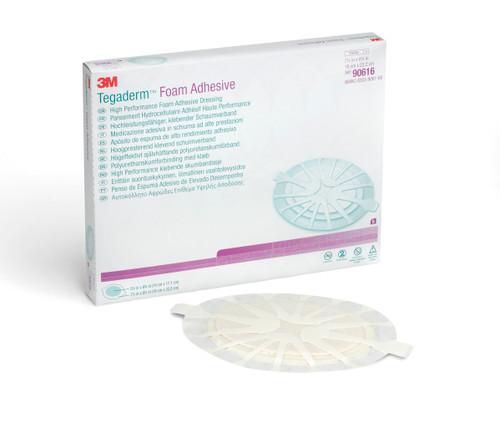 "3M Tegaderm Foam Adhesive High Performance Foam Adhesive Dressing, 7.5 X 8.75"", 90616, Box of 5"
