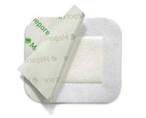 """Mepore Absorbent Dressing, 3.5 X 14"""", 671400, Box of 30"""
