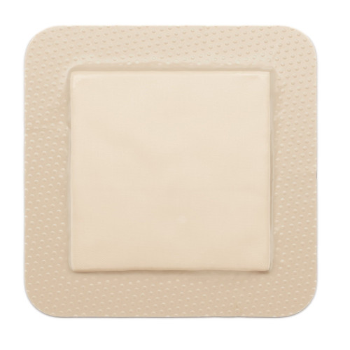 "Molnlycke Mepilex Silicone Adhesive with Border Foam Dressing, 4 X 12"", 295900, Box of 5"