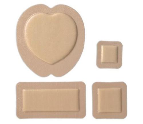 "Molnlycke Mepilex Silicone Adhesive with Border Foam Dressing , 4 X 10"", 295850, Box of 5"