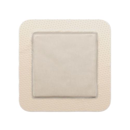 "Mepilex Border Ag Foam Dressing with Silver, 4 x 4"", 395390, Box of 5"