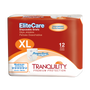 Tranquility EliteCare Diapers with Tabs - Maximum