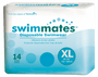SwimMates Adult Swim Pull-Up Underwear