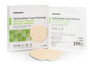 Adhesive Sacral Foam Dressing Silicone Adhesive 7 x 7 Inch - Sterile