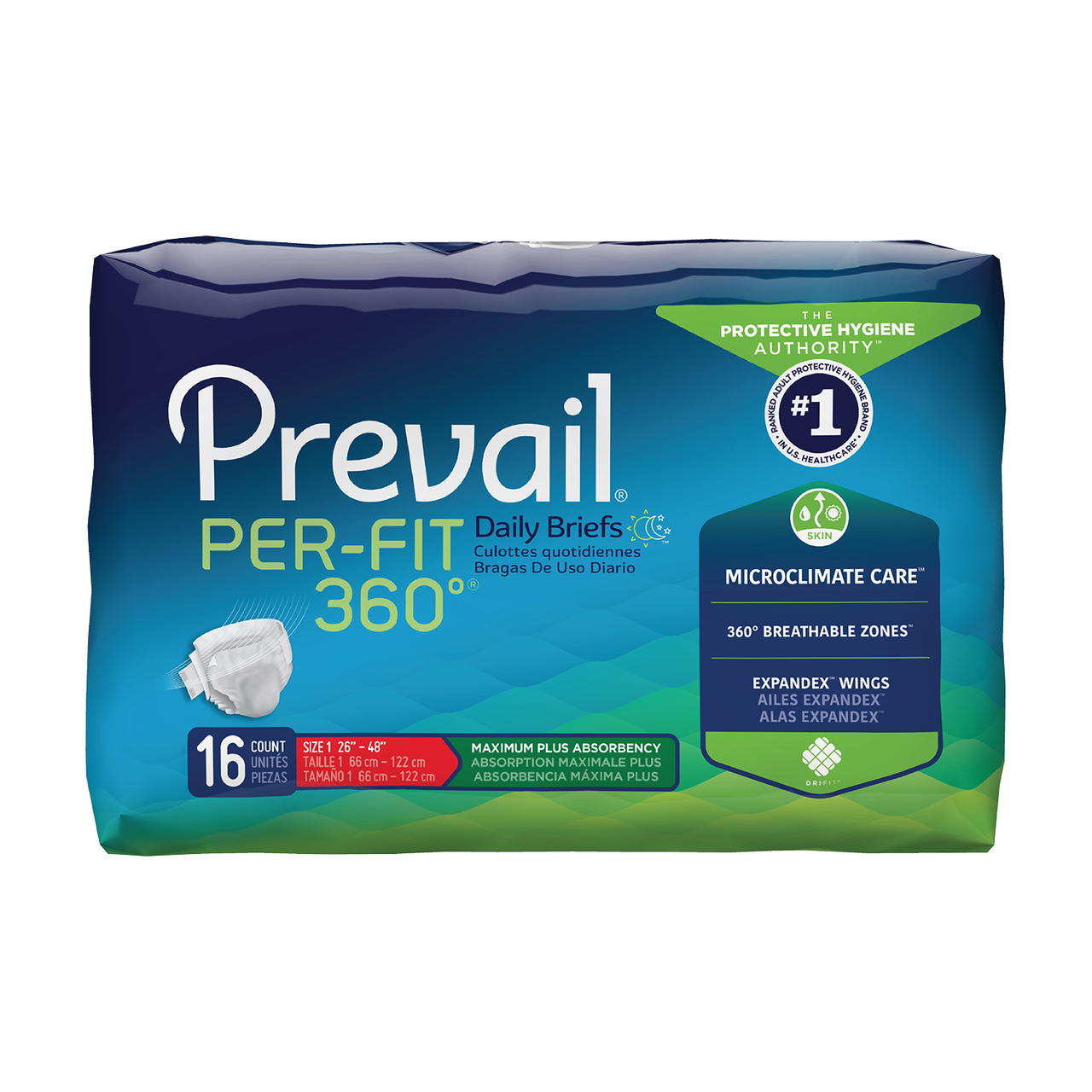 Prevail Per-Fit daily underwear