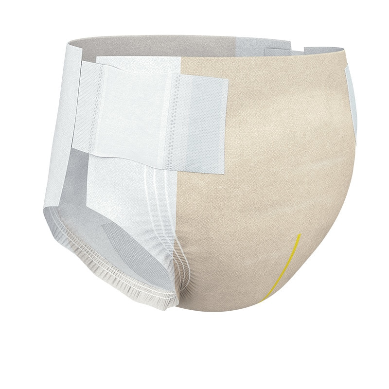 TENA Stretch Plus Incontinence Adult Diapers, Moderate Absorbency