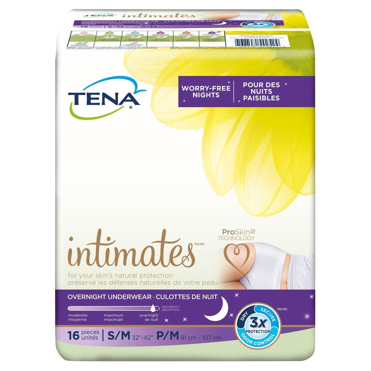 tena overnight underwear