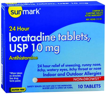 Sunmark Ioratadine Allergy Relief Tablets
