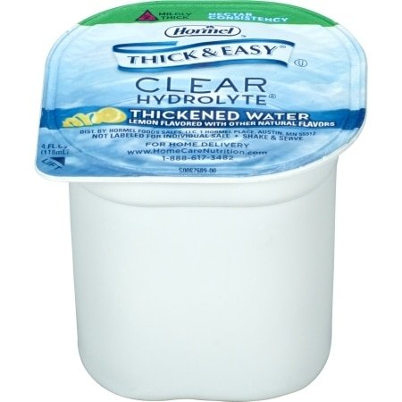 Thick & Easy Hydrolyte Thickened Water, Nectar Consistency