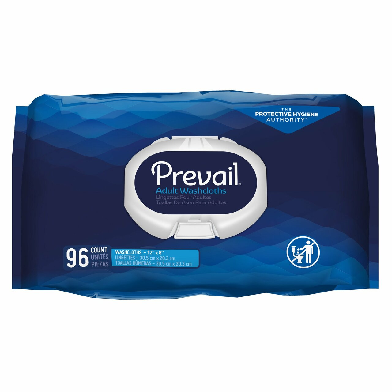 Prevail Personal Wipes with Lotion, Chamomile Scented