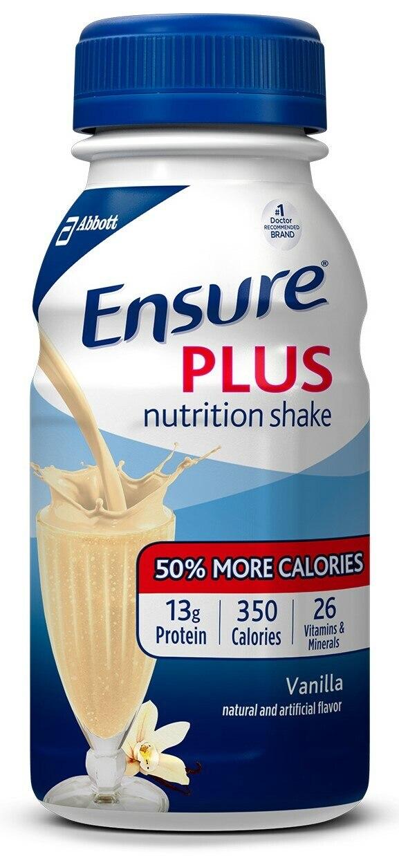 Ensure Plus Nutritional Shake, Bottle