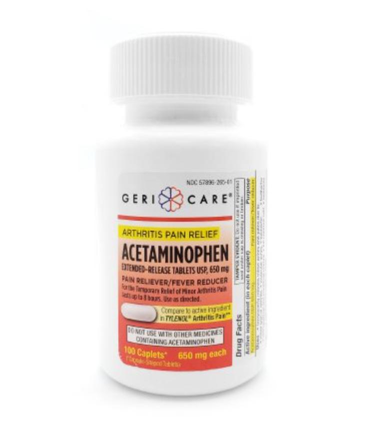 Geri-Care Acetaminophen Arthritis Pain Relief