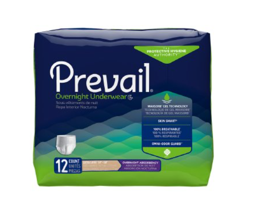 Prevail Pull-Up Underwear, Overnight