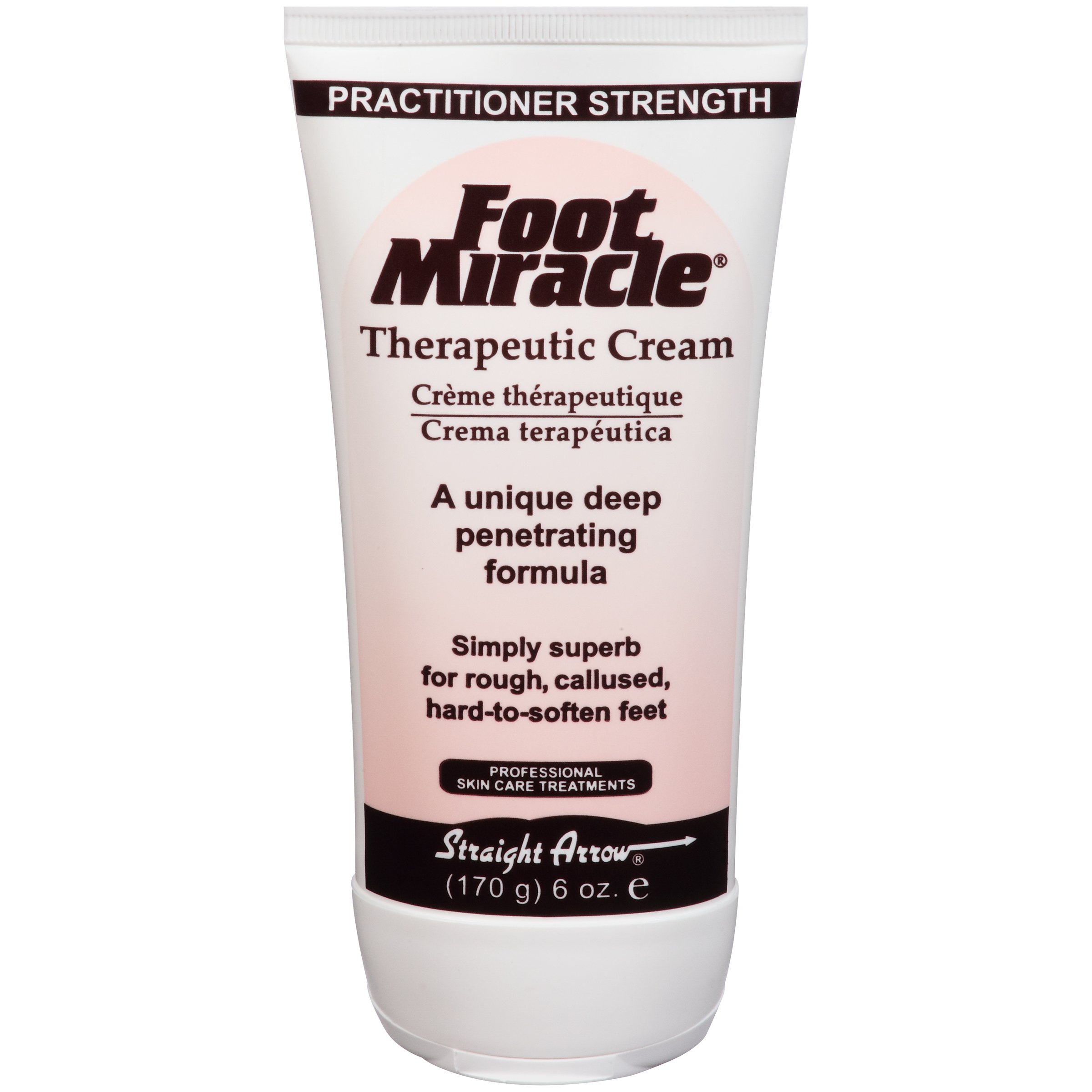 Miracle Foot Moisturizer Foot Cream, Tube, Scented, 6 oz., 743776, 1 Tube