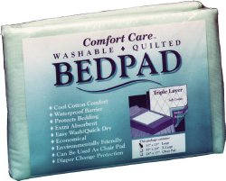 """Comfort Care Reusable Polyester/Rayon Underpad, Heavy Absorbency, 3529, 35 X 29"""" - 1 Pad"""
