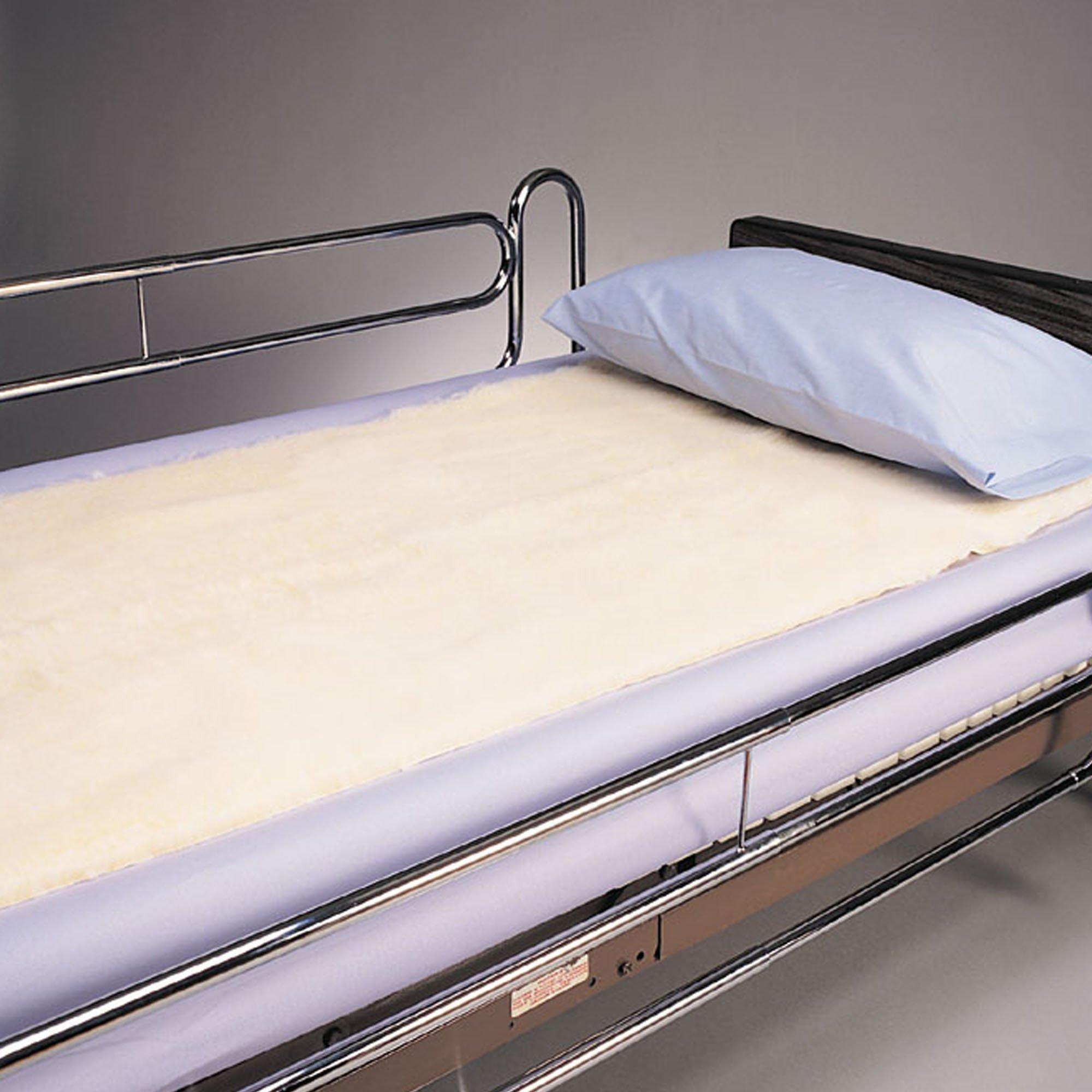 SkiL-Care Decubitus Bed Pad, White, 501090, 1 Pad