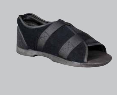 Darco Softie Black Post-Op Shoe, Male, STM3B, Large (10.5-12)
