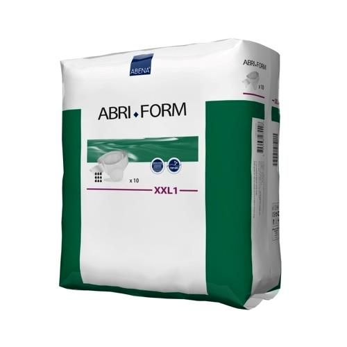 """Abri-Form Unisex Adult Disposable Diaper with tabs, Bariatric, Heavy Absorbency, 300516, 2X-Large (67-100"""") - Case of 40 Diapers (4 Bags)"""