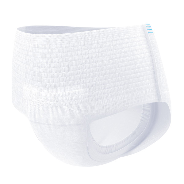 TENA Plus Unisex Adult Pull On Disposable Diaper with Tear Away Seams, Moderate Absorbency