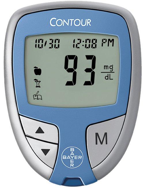 Bayer Contour Blood Glucose Meter, 7189, 1 Meter