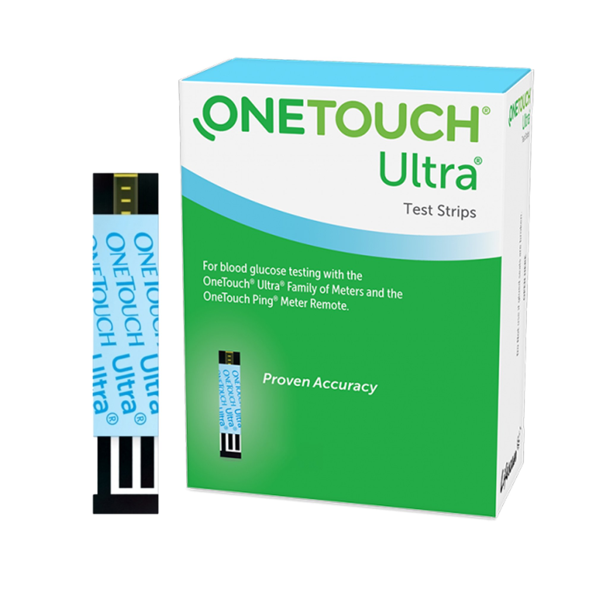 OneTouch Ultra Test Strips, 20994, Box of 25 Strips