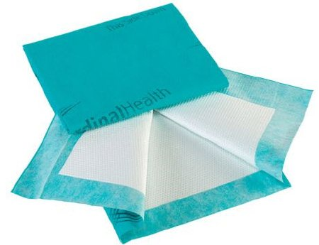 """Cardinal Health Premium Low Air Loss Underpad, Heavy Absorbency, UPPM3136, 31 X 36"""" - Case of 40 (4 Bags)"""