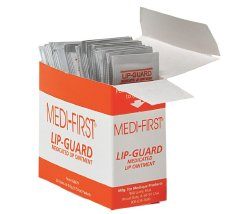 Medi-First Lip-Guard Medicated Lip Ointment, 26671, Case of 720 (36 Boxes)