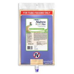 Nestle HealthScience Nutren Junior Fiber Nutritionally Complete with Fiber Tube Feeding Formula, 33.8 oz., 00798716774000, Case of 6
