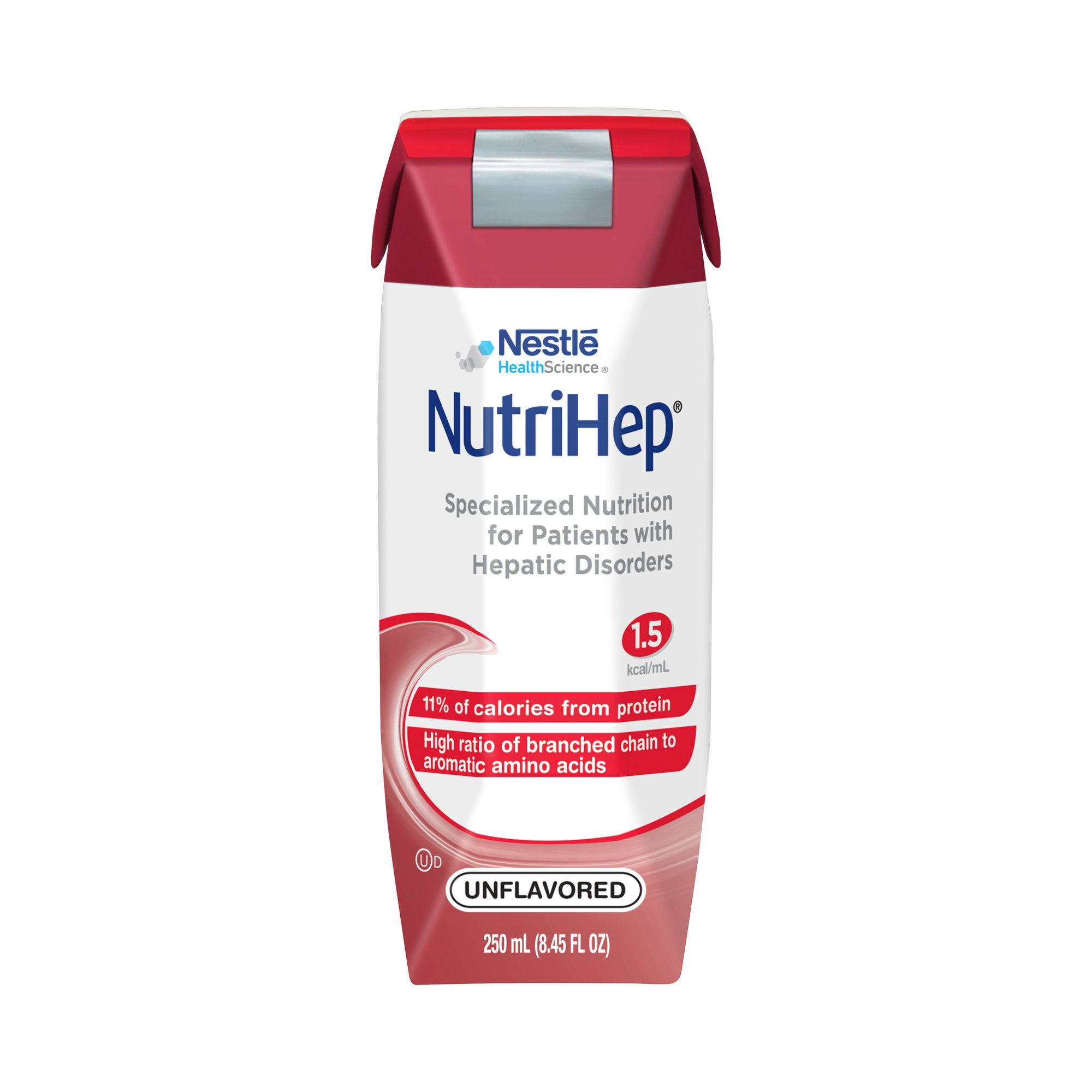 Nestle HealthScience NutriHep Specialized Nutrition Tube Feeding Formula, 8.45 oz, 9871616479, Case of 24