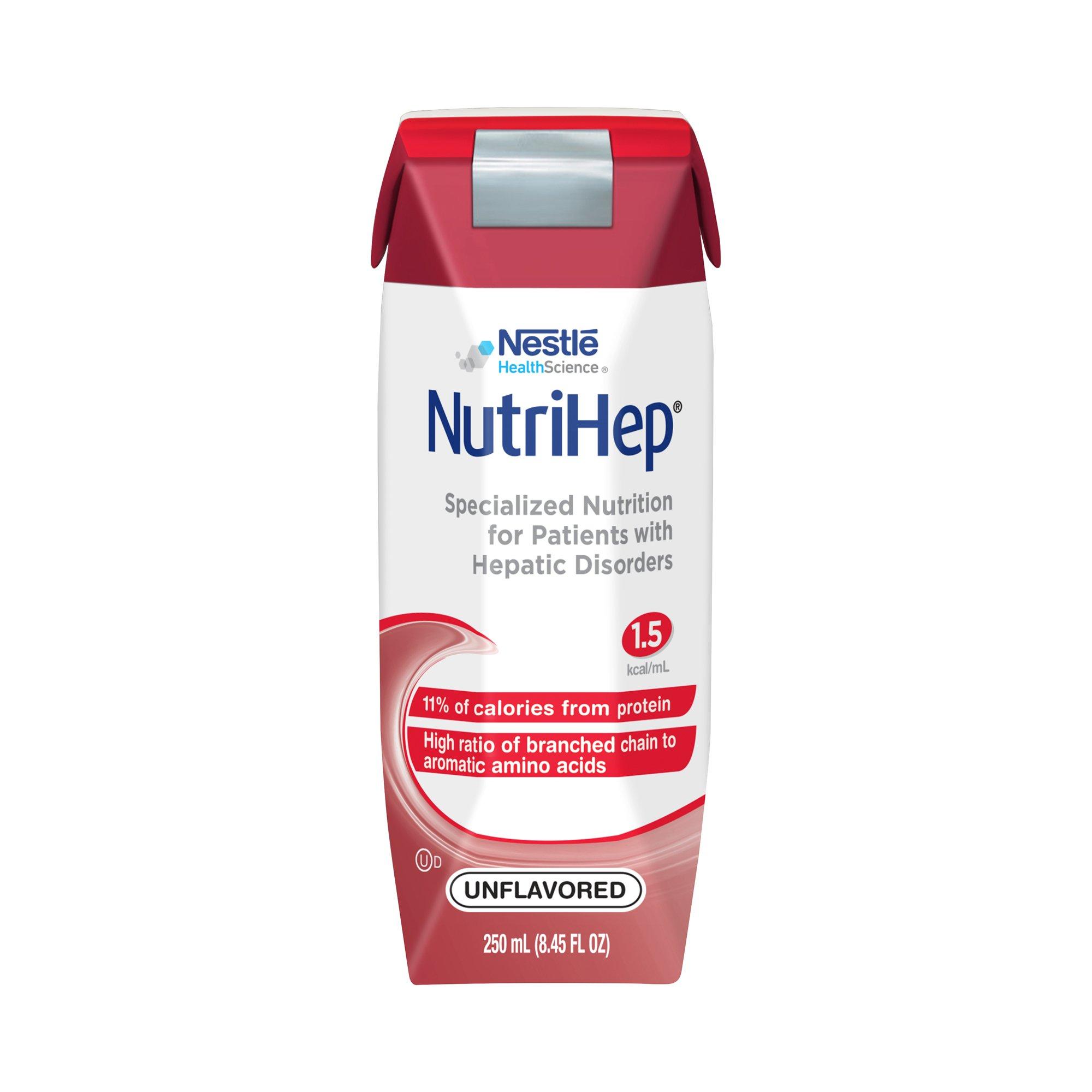 Nestle HealthScience NutriHep Specialized Nutrition Tube Feeding Formula, 8.45 oz, 9871616479, 1 Each