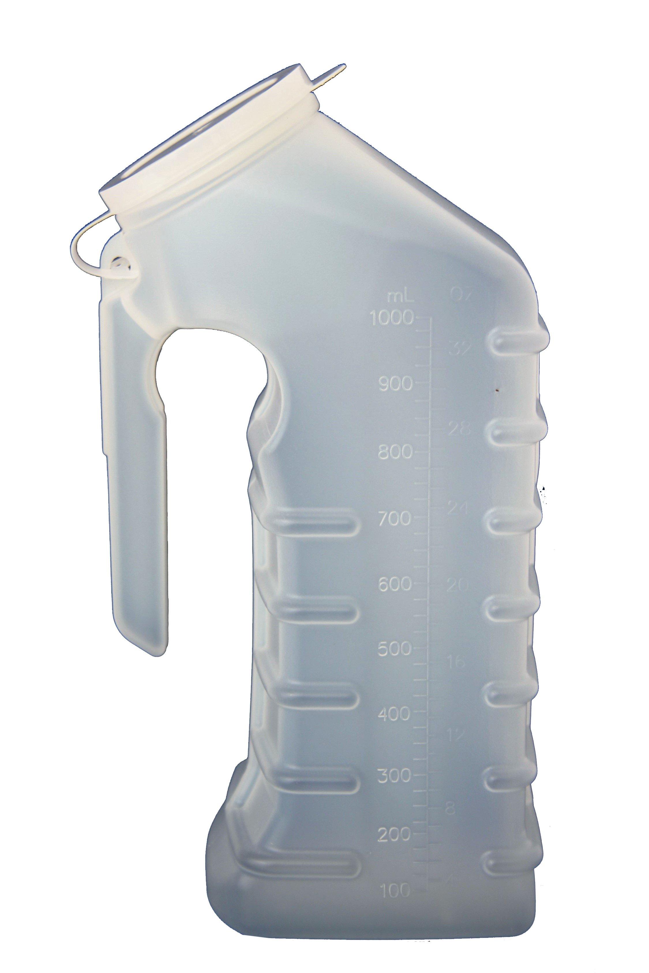 Uri-MAX Male Urinal with Closure, 32 oz., GP300, 1 Each