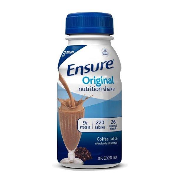 Ensure Original Nutritional Shake, 8 oz, Coffee Latte