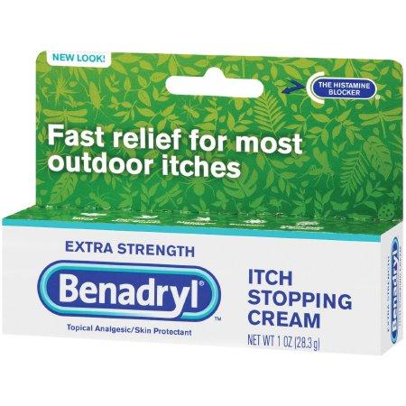 Benadryl Extra Strength Itch Stopping Cream, 1 oz., 00501320101, 1 Each