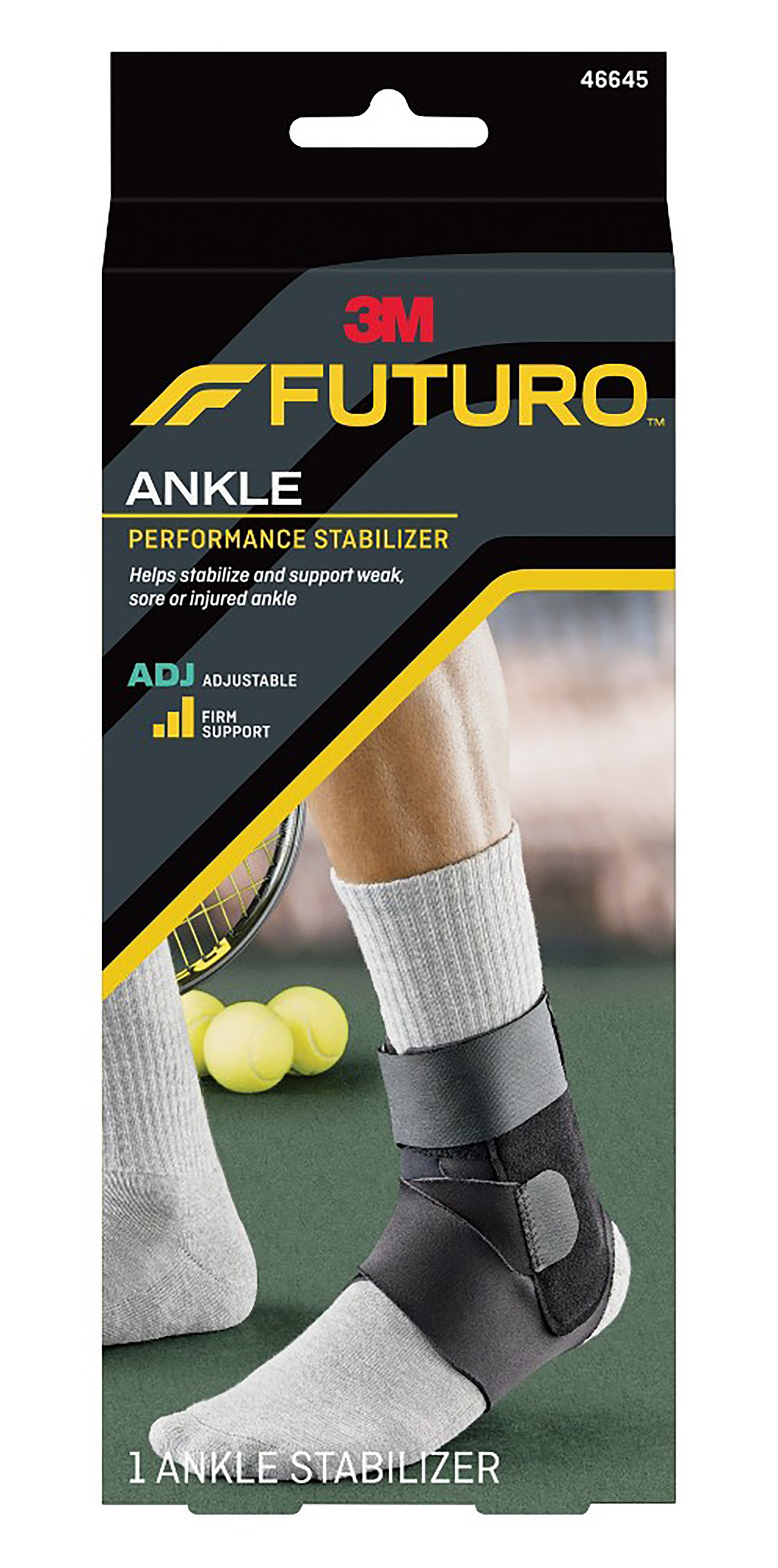 3M Futuro Ankle Performance Stabilizer, 46645ENR, Case of 12