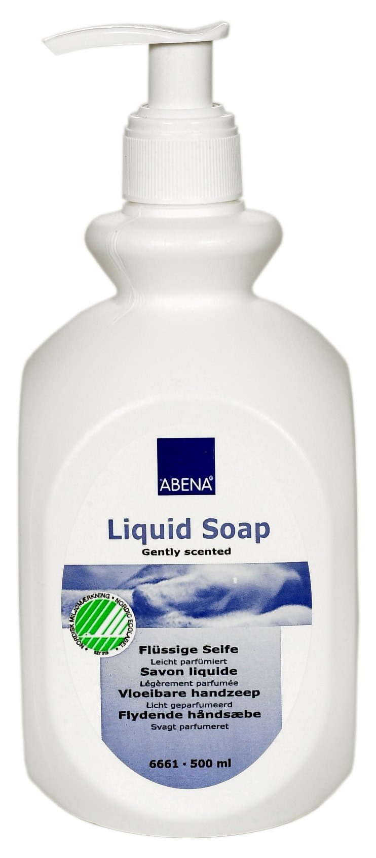 Abena Liquid Soap, Gently Scented, 500 mL, 6661, Case of 12