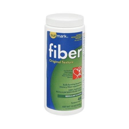 sunmark Fiber Original Texture Powder, Regular Flavor, 13 oz., 01093981244, 1 Each