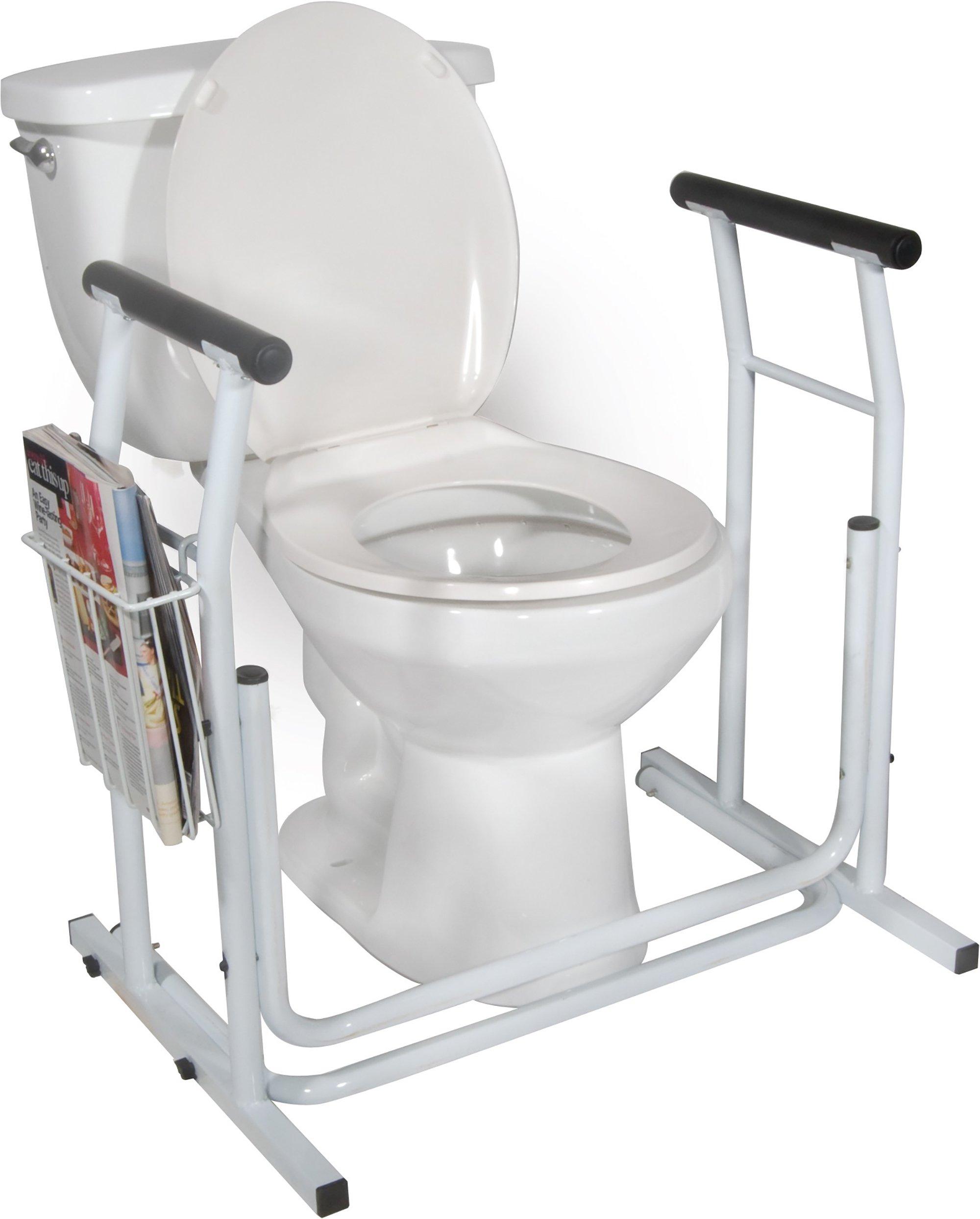 "drive Toilet Safety Rail, 21"", RTL12079, 1 Each"