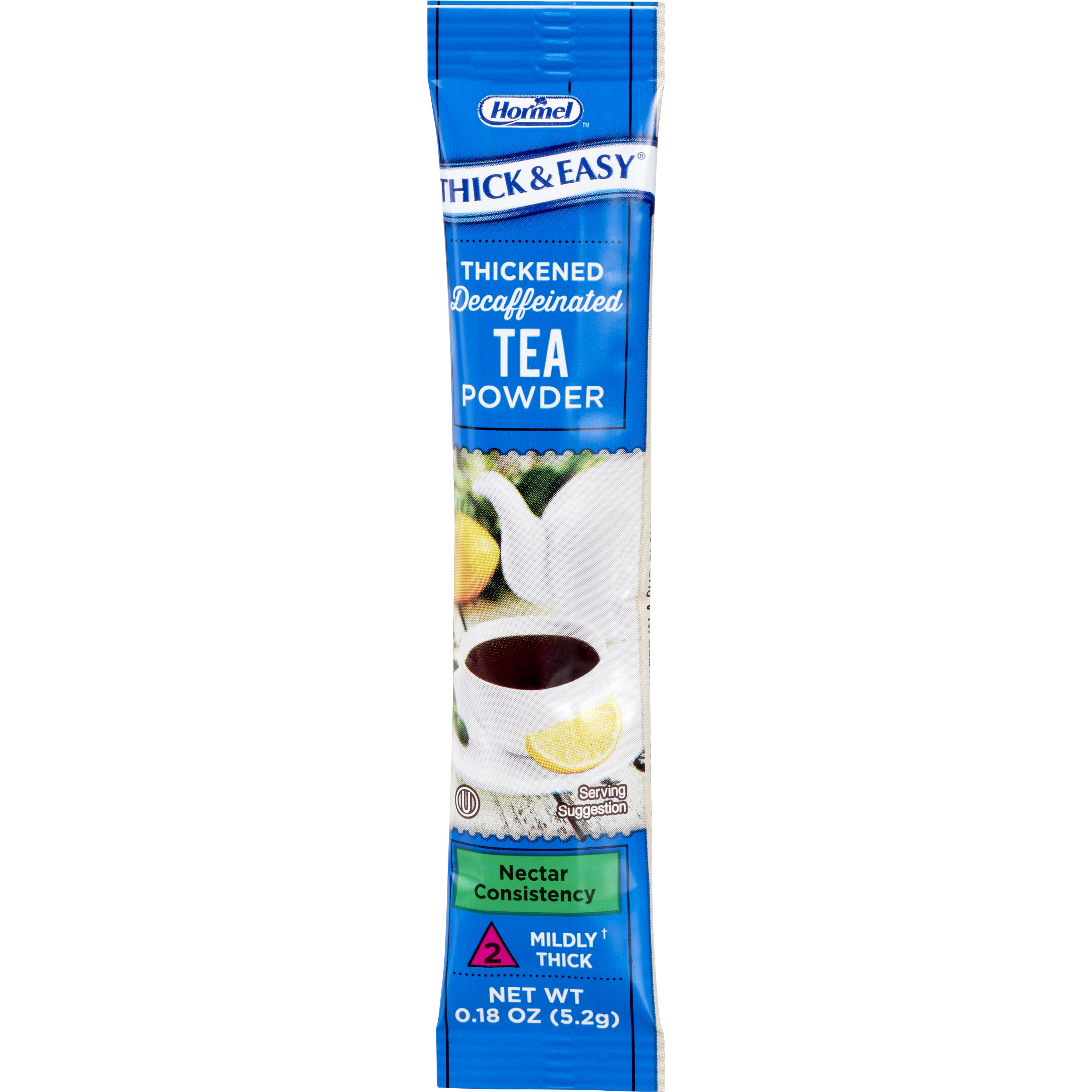 Thick & Easy Decaffeinated Tea Nectar Consistency Thickened Beverage, 0.18 oz. Packet of Powder, 81330, Case of 72