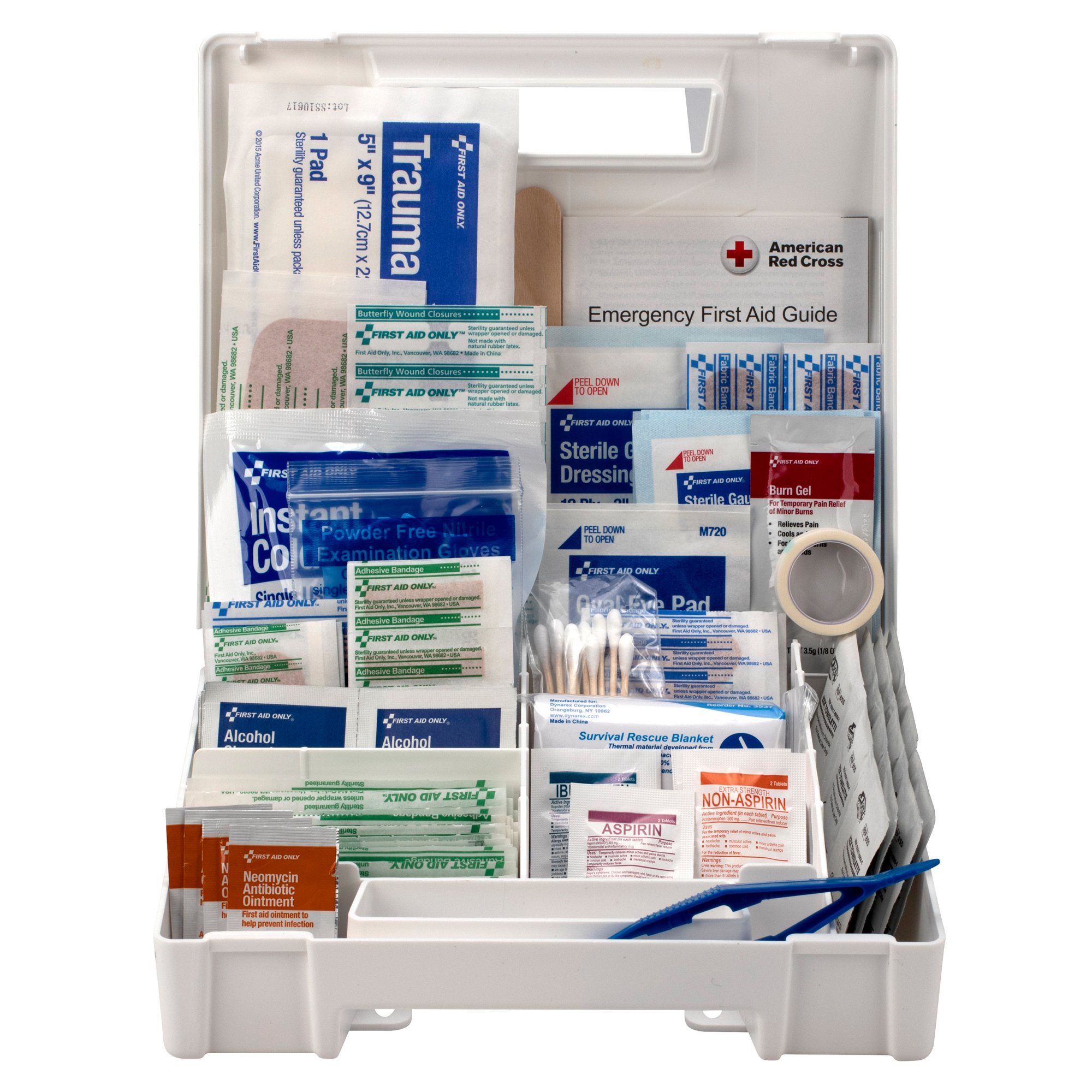 First Aid Only First Aid Kit, 200 Piece, FAO-134, 1 Kit